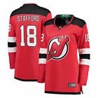 Fanatics Branded Drew Stafford New Jersey Devils Womens Red Breakaway Jersey