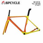 T1000 Full Carbon Cyclocross Frames, Gravel Carbon Bicycle Frames 142*12mm Frame