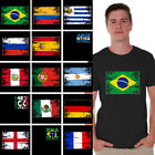 Soccer Shirts Men's Brazil 2018 Argentina 2018 Mexico Shirt Colombia 2018 Tshirt image