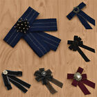 Women Bow Tie Crystal Peal Decor Ladies Weeding Necktie Party Accessories Gifts
