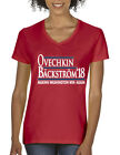 V-NECK Alexander Ovechkin Nicklas Backstrom Washington Capitals 18 Ladies Tshirt $15.99 USD on eBay