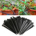 Hook Fixed Stems Support Holder for 4/7mm Tube Drip Irrigation Water Hose #JG