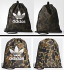 adidas Originals Drawstring Camouflage Multicolor Gym Sack Sport Bag *NEW