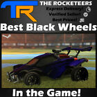 [PC] Rocket League Best Black Wheels Draco Dieci Apex Grimalkin Tunica etc