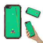 SNOOKER POOL TABLE 2 CASE IPHONE 4 4S 5 5C 5S SE 6 6S 7 8 X PLUS $8.64 USD on eBay
