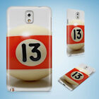 SNOOKER POOL TABLE BALLS 9 HARD CASE FOR SAMSUNG GALAXY ACE 3/4/ALPHA $8.15 USD on eBay