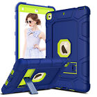 For Apple iPad 9.7-inch 2018 6th Gen Case Shockproof Hybrid Hard Matte TPU Cover