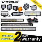 Led Work Light Bar Spot Flood Offroad Roof Lights Driving Lamp Truck Bar Car 4wd
