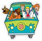 Scooby Doo Gang Van Vinyl Sticker Decal *sizes* Wall Bumper