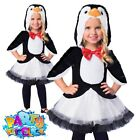 Child Penguin Tutu Costume Girls Animal Book Day Fancy Dress Outfit Kids