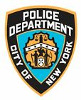 Внешний вид - NYPD Police Sticker Decal R4857 New York Police Department