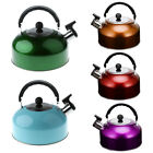Sturdy Stainless Steel Whistling Tea Kettle for Boat Camping