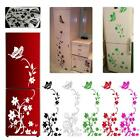 3d Vinyl Flower Animal Wall Refrigerator Stickers Decal Art Home Decor Removable