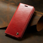 Flip Card Holder Leather Case Wallet Purse Cover for Samsung S7 S8 S9 S10+ Phone