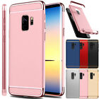 For Samsung Galaxy S9 / S9+ Plus Electroplate Shockproof Hard Back Case Cover