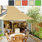 Sun Shade Sail Patio Outdoor Canopy UV Block Top Cover Shelter Right Triangle
