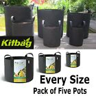 Fabric Plant Pot Flower Pots Root Smart Pouch Grow Rhizopot 5L 10L 15L 20L 25L +