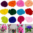 5pcs Multicolor Flower Nylon Stocking Material Handmade Nylon Flower Party Decor