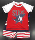 Внешний вид - Infant Boys Swet & Soft 2pc Red, White, & Navy Swim Set Sz 12 Months - 24 Months