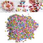 DIY 5/10/50g Polymer Clay Fake Candy Sugar Sprinkle for Phone Case Decor Gift image