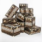 British Mossman Leopard Print Faux Fur Range of trunks - Many sizes available.