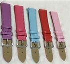 HOT Adjustable Leather Watch Band Buckle Wristwatch Bands 12-24mm Replacement