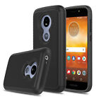 For Motorola Moto E5 Play/Cruise Hard Armor Case Cover + Glass Screen Protector