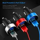 For iPhone Samsung Dual USB Car Charger Adapter Fast Charge Charging Cable Lot