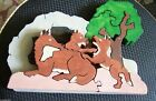 Puzzle Wooden Handmade Animal Rustic Primitive New Child Toy or Decor