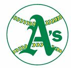 Oakland Athletics Oakland A's Sticker Decal S205 Baseball YOU CHOOSE SIZE on Ebay