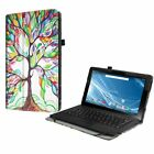 For 11.6 Inch Insignia Flex Hybrid 2 in 1 Tablet Folio Case Cover Stand Leather