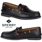 Sperry Top-Sider Gold Cup A/O 2-Eye Men's Boat Shoes Work Comfort Walking NIB