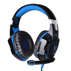 Gaming Headset Computer Earphone Gamer PC Stereo Head Phone With Microphone Leds
