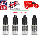Kyпить 5X10ml Nic Shot- NicDrops Nicotine Shot 18mg/ml 70/30VG Premium Quality UK Made на еВаy.соm