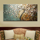 Handpainted Flower Tree Palette Thick Knife Oil Painting On Canvas Home Wall 807
