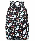 Cute Lightweight Fashion Elementary School Unicorn Backpack For Girls Kids Teen