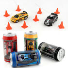 1:58 Headlights/Taillights Micro Car Remote Controls Coke Can RC Racing Toy $7.99  on eBay
