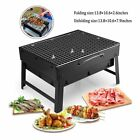 BBQ Barbecue Grill Folding Portable Charcoal Stove Camping Graden Outdoor UK