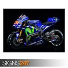 YAMAHA YZR M1 MOVISTAR (AE185) - Photo Picture Poster Print Art A0 A1 A2 A3 A4