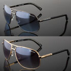new designer square aviator sunglasses metal bar