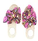 Luxury fashion African print ankara espadrille sandal shoe Made in South Africa