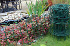 Garden Border Fence Lawn Edging Green Pvc Coated Wire Edge Fencing 10m Easigear