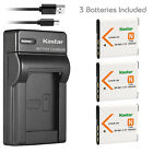 Kastar Battery Slim Charger for Sony NP-BN1 BC-CSN & Sony Cyber-shot DSC-TX5