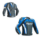 RST 2051 Tractech Evo III Mens CE Sports Leather Motorcycle Jacket - Blue