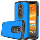 For Motorola Moto E5 Plus/Play/Cruise Case Hard Armor Shockproof TPU Phone Cover
