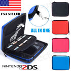 Hard EVA Storage Carrying Case Bag Protective Shell w/Strap for Nintendo 2DS US
