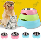 Non Slip Stainless Steel Dog Cat Food Bowl Dog Supplies Dishes Feeders Fountains