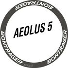 Two Wheel Stickers Set for Bontrager Aeolus 5 Road Bike Bicycle Carbon Decals