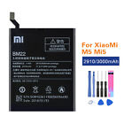 Original Battery For Xiaomi Mi 3 4 5 6 7 Mix Max Redmi 3 4 5 Note 4 4X +Tools