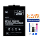 Original Battery For Xiaomi Mi 5 6 7 3 4 Mix Max Hongmi 3 4 5 Redmi Note 4 4X